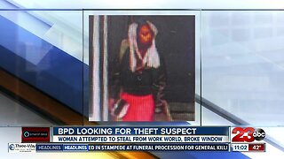 Bakersfield police looking for theft suspect