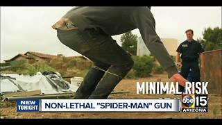 "Could ""Spider-Man"" gun help reduce police shootings?"