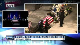 Watch Guard honors fallen officer - Video