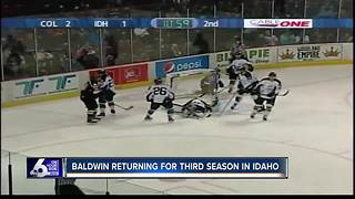 Baldwin returning for third season in Idaho - Video