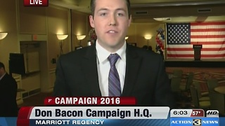 Don Bacon hit 6pm - Video