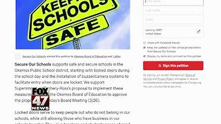 School board expected to vote on petition to increase security at Okemos Public Schools - Video