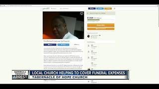 Church helping support sister of fourth Seminole Heights shooting victim - Video