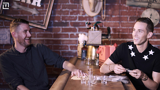 We Played A Fun Drinking Game With Adam Rippon - Video
