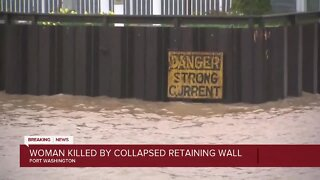 74-year-old woman dies in retaining wall collapse in Port Washington