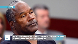 O.J. Simpson Not Welcome At Alma Mater After Release From Prison - Video