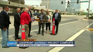 Road project to make Summerfest more accessible - Video