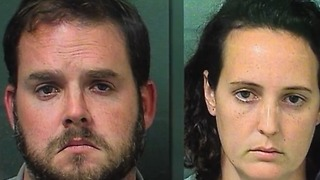Palm Springs couple accused of using dog crate and handcuffs to punish son - Video