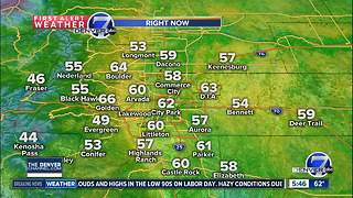 Hazy and very warm for Labor Day! - Video