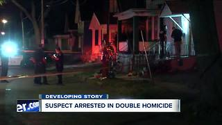 Suspect arrested in Grape Street double homicide - Video