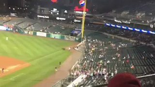 #RallyGoose Crashes Into Scoreboard During Detroit Tigers Game - Video