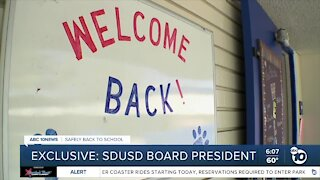SD Unified Board President talks to ABC 10News