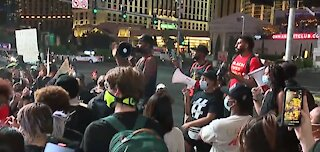 Protest in Las Vegas Day 2 after Breonna Taylor decision