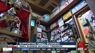 Small Business Saturday highlights small businesses - Video