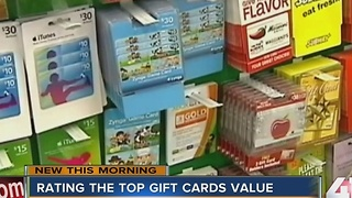 Rating the top value for gift cards - Video