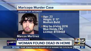 Woman found dead in Maricopa home - Video