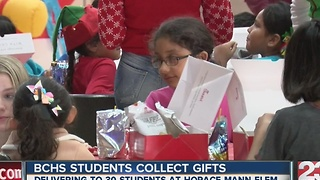BCHS students college gifts - Video