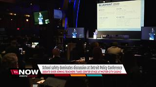 School safety dominates discussion at Detroit Policy Conference
