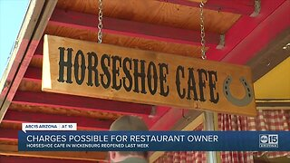 Possible charges for Wickenburg restaurant owner
