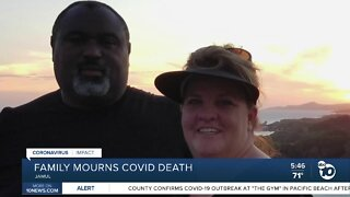 Jamul family mourns loss of husband from COVID-19
