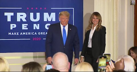 President Trump falsly claims victory in election