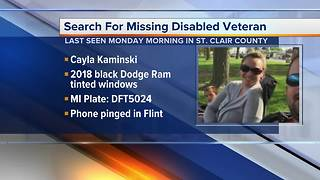 Husband makes plea on Facebook for public to help locate missing wife in St. Clair - Video