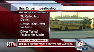 Bus driver tests positive for alcohol after driving students to school in Hamilton County - Video