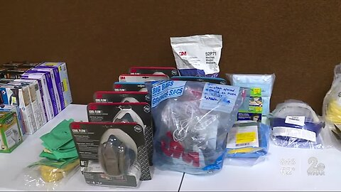 Church collects gear to protect first responders
