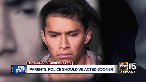 Parents of young Phoenix girl impregnated by older man says police should've acted sooner