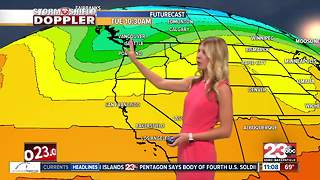 90's for the weekend and cooling down into next week - Video