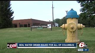 E.coli found in Columbus water supply; boil order issued through Sunday - Video