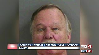Deputies: Neighbor Robs Man Living Next Door - Video