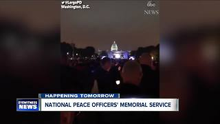 Fallen Buffalo officer honored in Washington, D.C. - Video