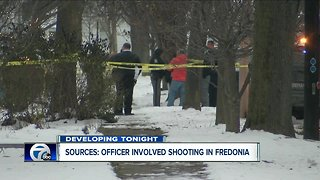 Sources: Officer involved shooting in Fredonia