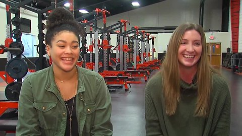 Jillian Hayes and Marie Plitt tell why they like playing on high school and club teams