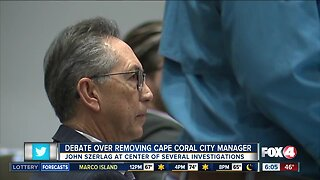 Debate over removing Cape Coral City Manager