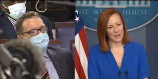 Psaki Gives Snotty Response When Asked About Biden's False Covid Death Claims