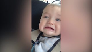If You're Having A Bad Day, Just Watch What This Baby Has To Say  - Video