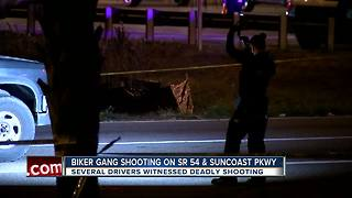 Sheriff: Biker gang behind homicide near Suncoast Parkway and SR 54 in Pasco County - Video
