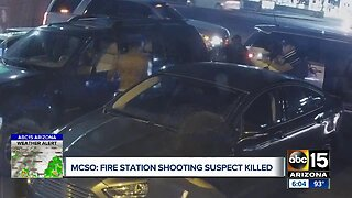 MCSO: Fire station shooting suspect killed