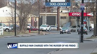 Man charged with the murder of his friend
