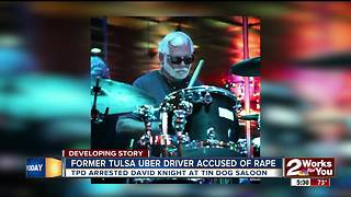 Former Uber driver and drummer arrested for rape in Tulsa - Video
