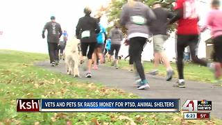 Inaugural 5K run raises funds for veterans - Video