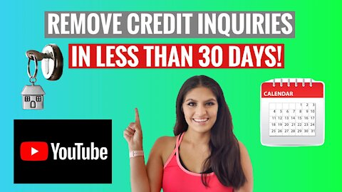 REMOVE CREDIT INQUIRIES ( 20 Points In 20 Days - Video 4 Of 10 )