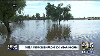Valley remembers historic neighborhood, street flooding - Video