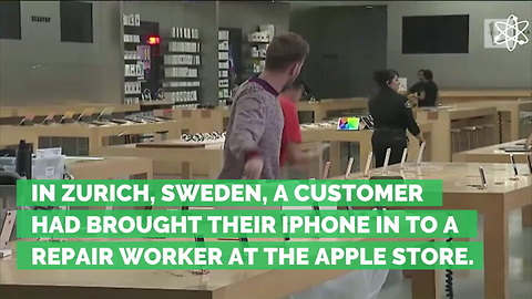 iPhone 'Explodes' in Hands of Employee at Apple Store, Injuring Seven People