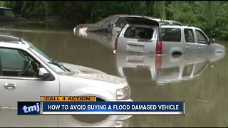 Beware flood damaged cars - Video
