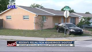 Residents reeling after neighborhood shootout near school - Video