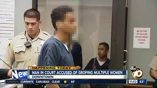 Man charged with groping SDSU students - Video
