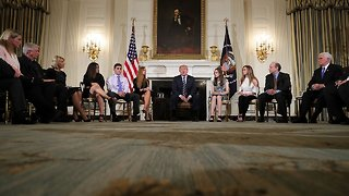 Trump Hosts Listening Session On School Safety After Shooting - Video